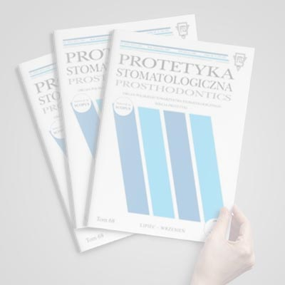 """""""Protetyka stomatologiczna"""": o utracie połączenia na granicy cement-zębina, cement-wkład"""