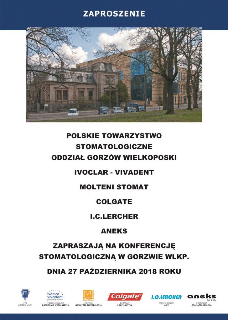 Konferencja stomatologiczna PTS Gorzów Wielkopolski
