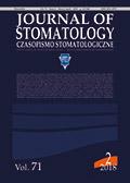 Journal of Stomatology Czasopismo stomatologiczne