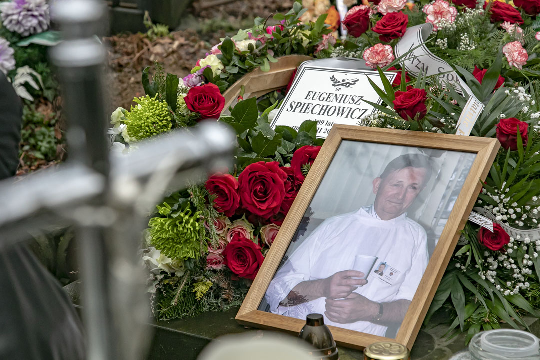 Pożegnanie prof. Eugeniusza Spiechowicza (fot. WUM)