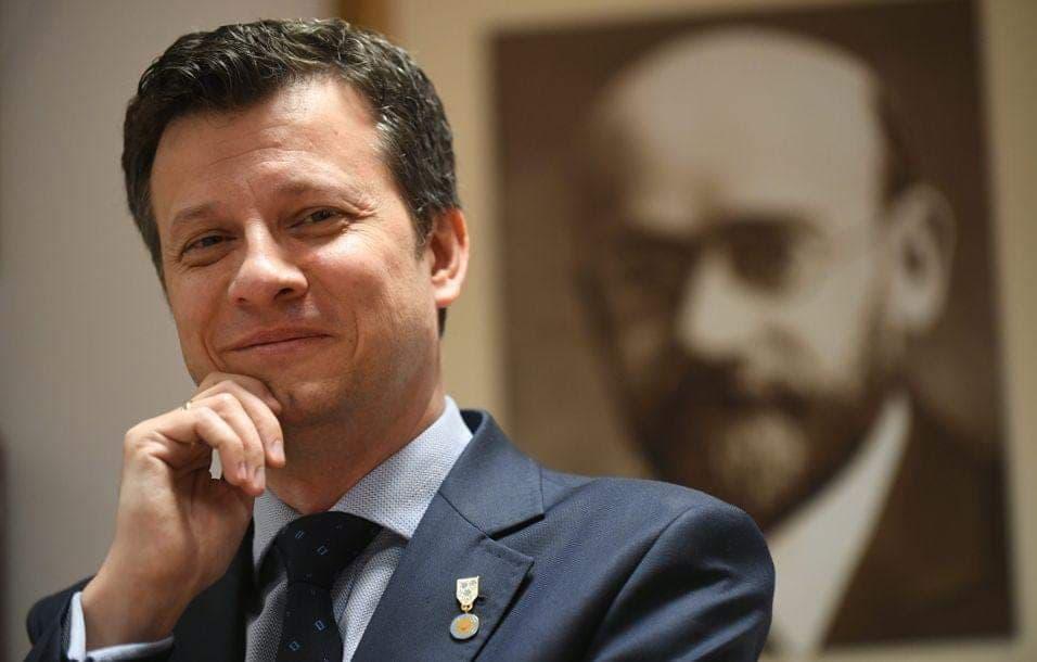 Marek Michalak: szkoła to miejsce na rozmowę o zdrowiu jamy ustnej (fot. MKOU)