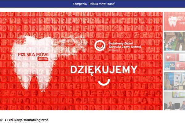 """Gwiazdy CEDE 2019 – zagłosuj na kampanię """"Polska mówi #aaa""""!"""