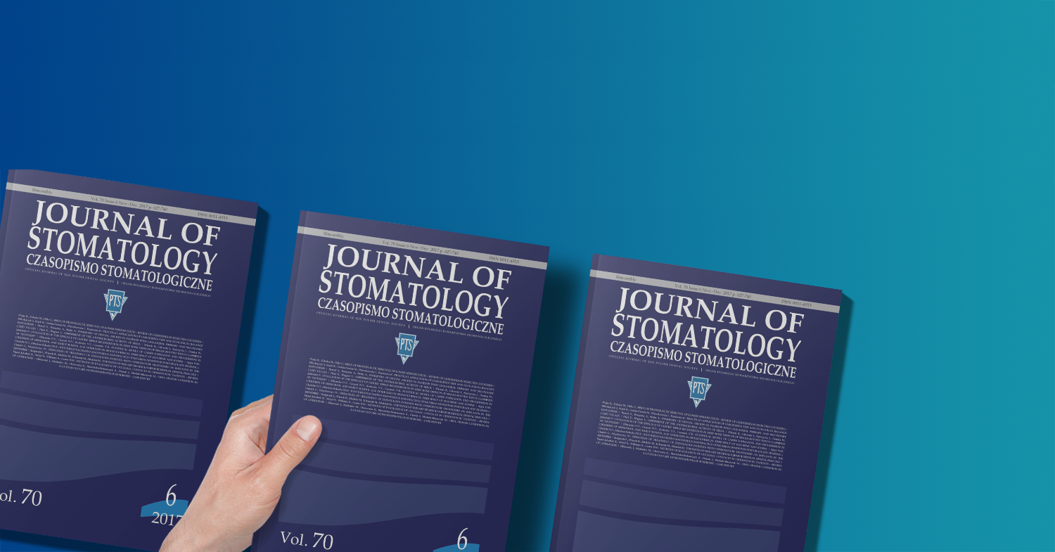 Journal of Stomatology – redaktor naczelna o zmianach