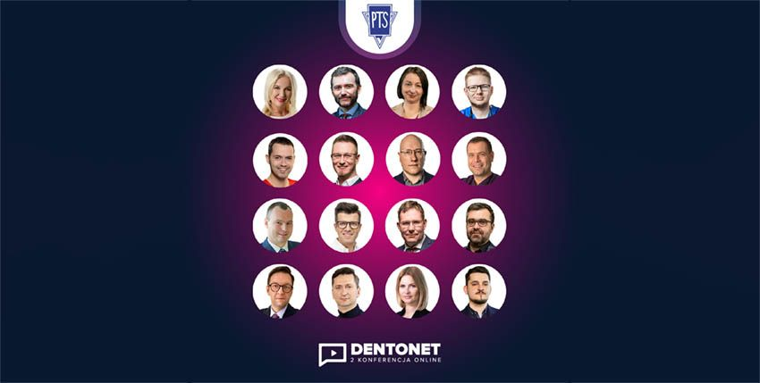 Konferencja Dentonet Online już po raz drugi. Patronat PTS
