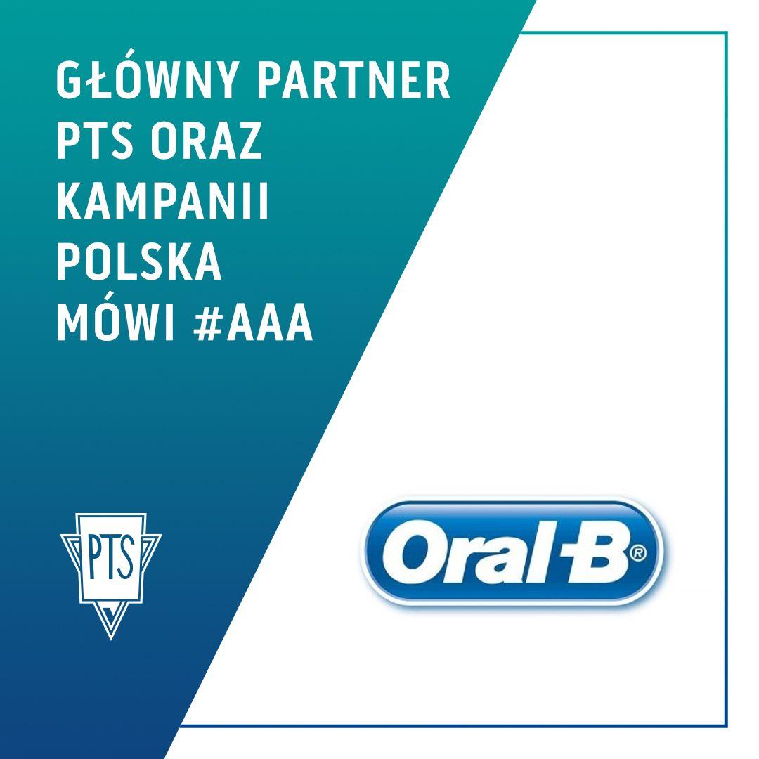 """Oral-B® Głównym Partnerem PTS i kampanii """"Polska mówi #aaa!"""""""
