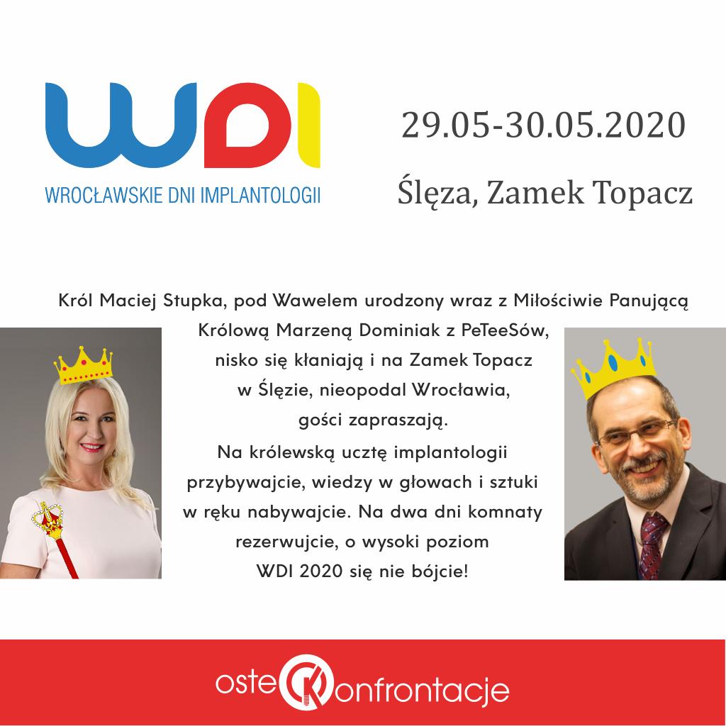 WDI 2020 – królewstwo implantologii na zamku Topacz