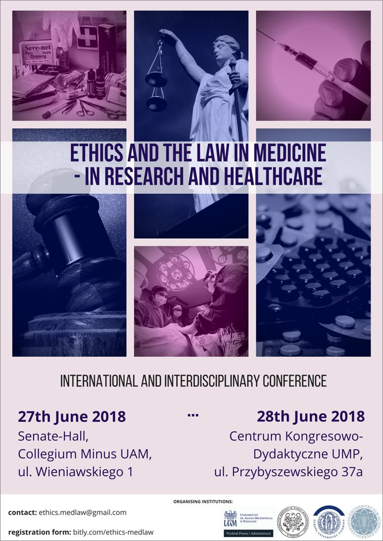 Bioetyka i prawo w medycynie – konferencja w Poznaniu