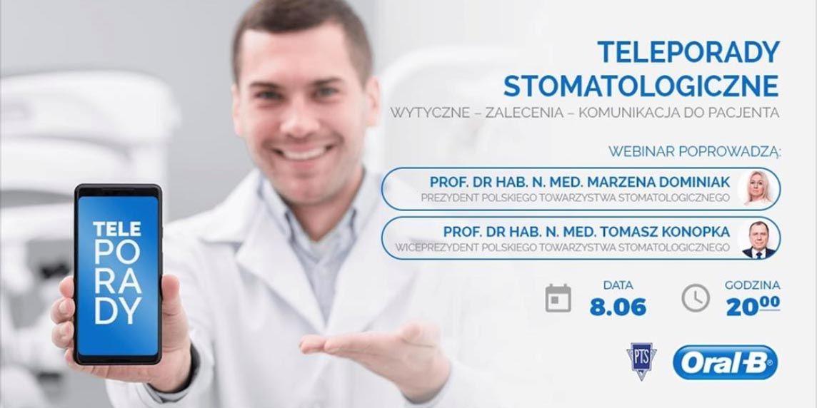 Teleporady stomatologiczne (po webinarze)
